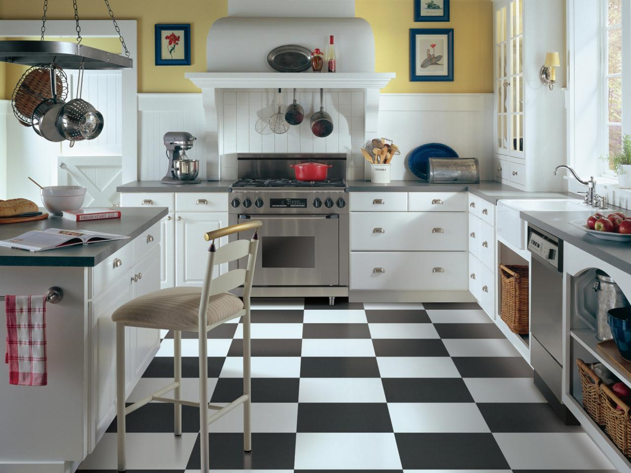 Kitchen Flooring-Palm Beach Kitchen & Bath Remodeling-We do kitchen & bath remodeling, home renovations, custom lighting, custom cabinet installation, cabinet refacing and refinishing, outdoor kitchens, commercial kitchen, countertops, and more